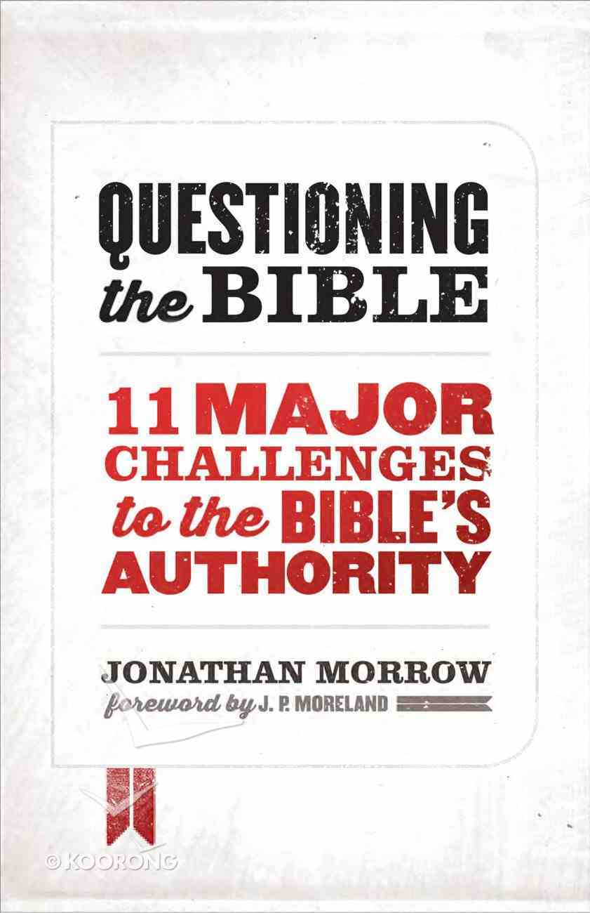 Questioning the Bible Paperback