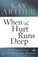When The Hurt Runs Deep image