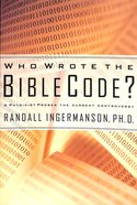 Who Wrote The Bible Code image