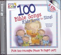 Album Image for 100 Bible Songs Kids Love to Sing + Colouring Pages (2cds) - DISC 1