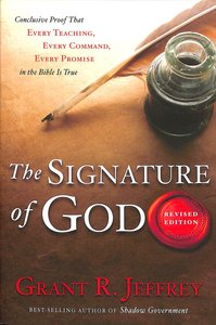 Product: Signature Of God, The Image