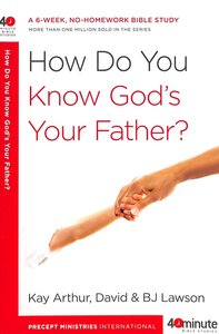 Product: 40 Mbs: How Do You Know God's Your Father Image