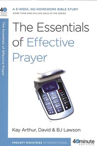 Product: 40 Mbs: The Essentials Of Effective Prayer Image