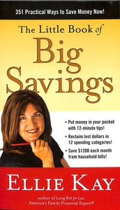 Product: Little Book Of Big Savings, The Image