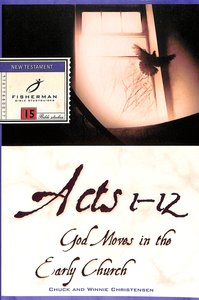 Product: Fbs: Acts 1-12: God Moves In The Early Church Image
