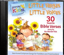 Album Image for Little Verses For Little Voices (#02 in Wonder Kids Music Series) - DISC 1