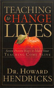 Product: Teaching To Change Lives Image
