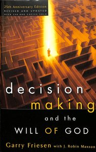 Product: Decision Making And The Will Of God (Revised 2004) Image