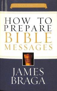 Product: How To Prepare Bible Messages (35th Anniversary Edition) Image