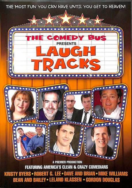Product: Dvd Comedy Bus Presents:laugh Tracks Image