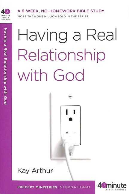 Product: 40 Mbs: Having A Real Relationship With God Image