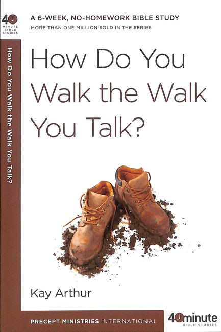 Product: 40 Mbs: How Do You Walk The Walk You Talk? Image