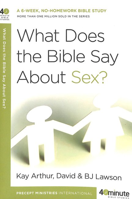 Product: 40 Mbs: What Does The Bible Say About Sex? Image