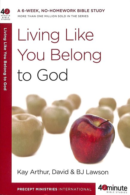 Product: 40 Mbs: Living Like You Belong To God Image