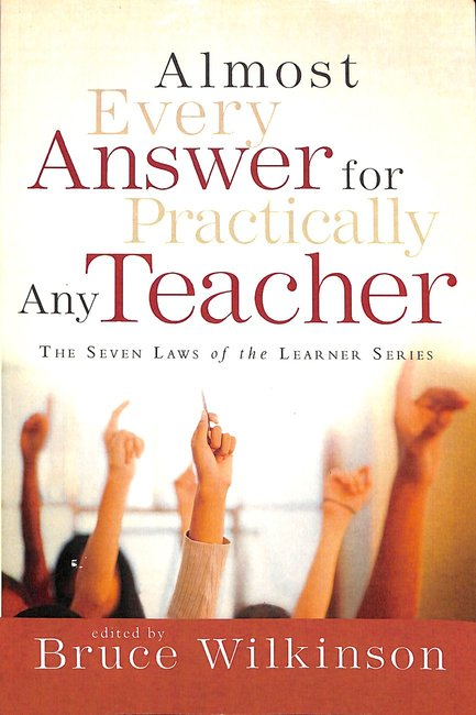 Product: Almost Every Answer For Practically Any Teacher Image