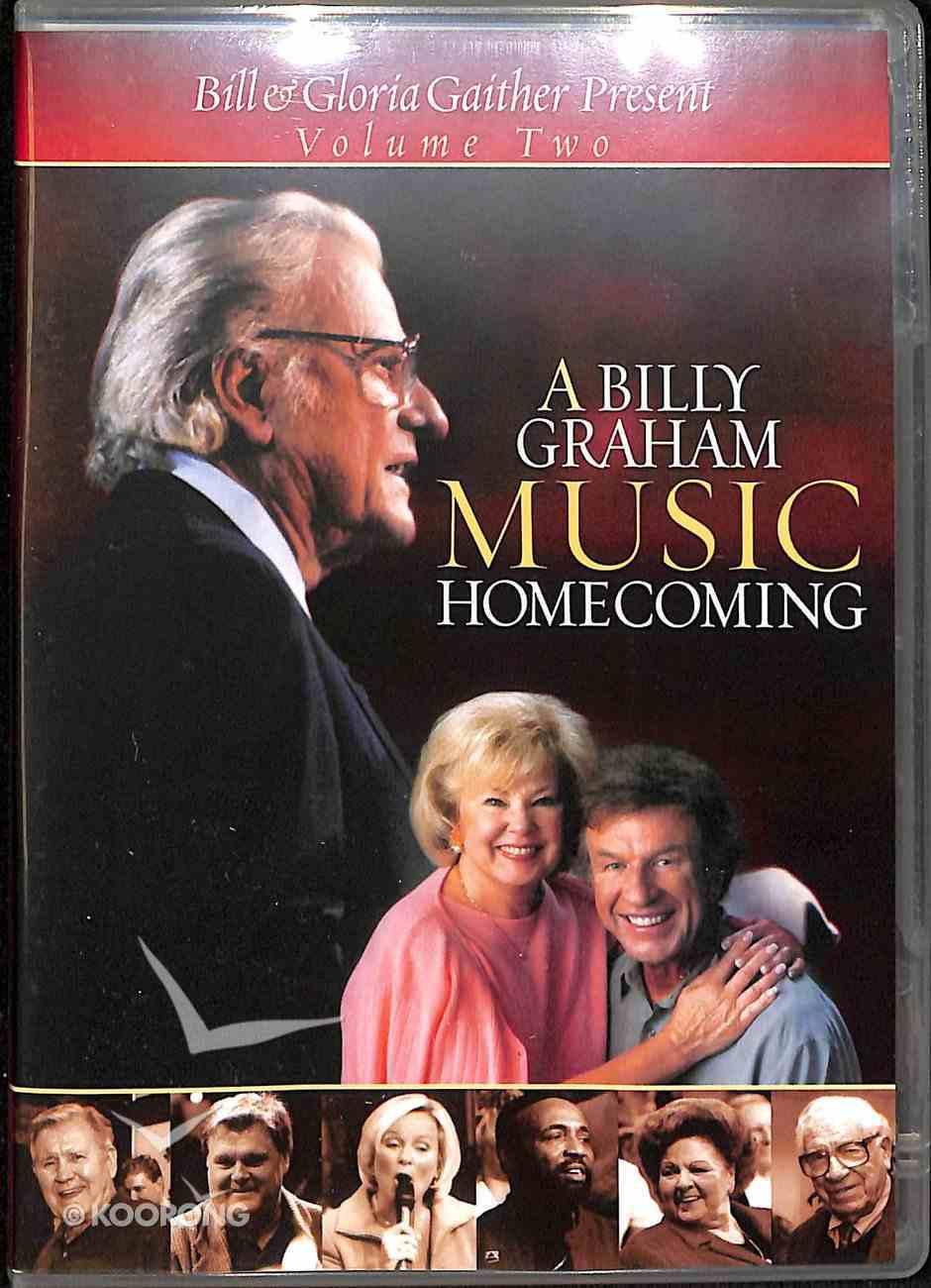 A Billy Graham Music Homecoming (Volume 2) (Gaither Gospel Series) DVD