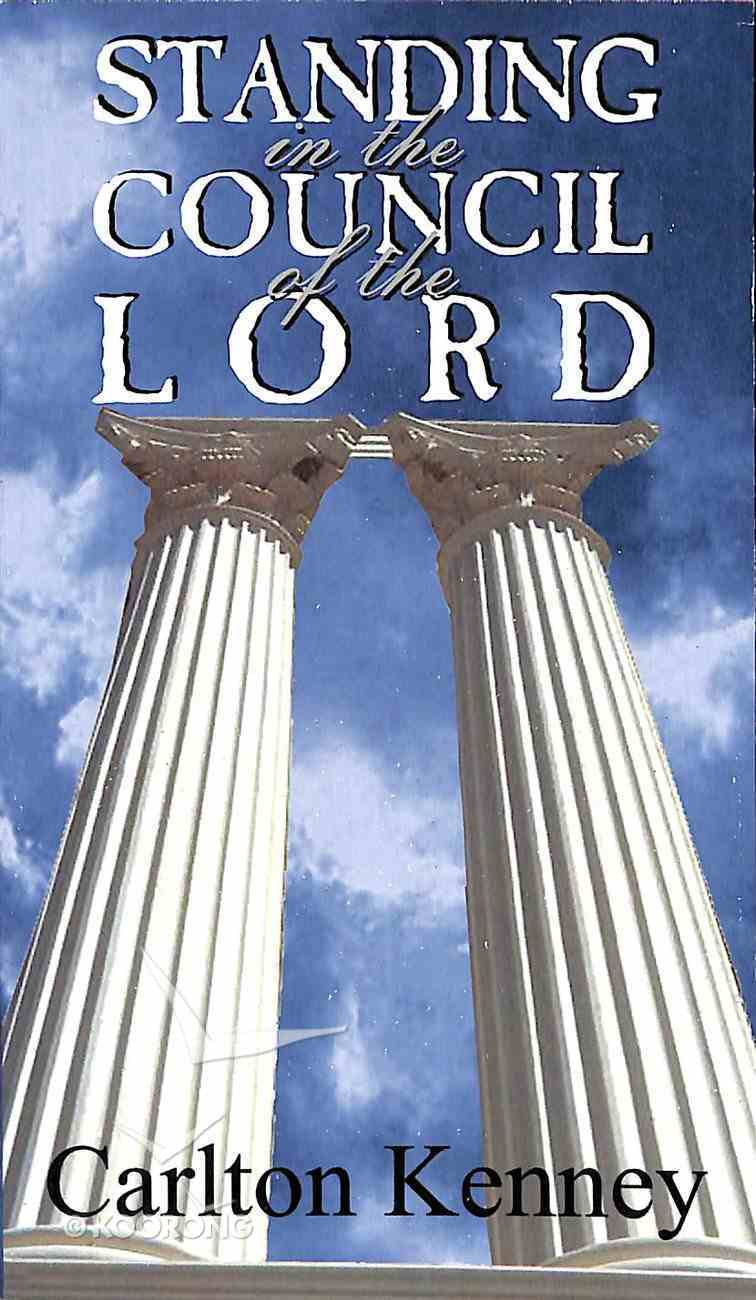 Standing in the Council of the Lord Booklet