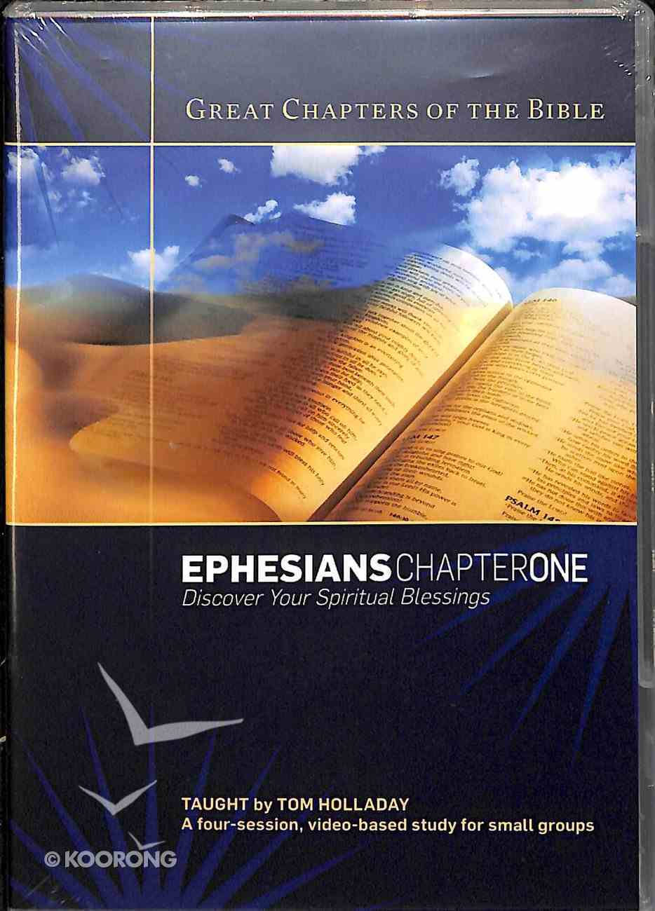 Ephesians Chapter 1 (Dvd) DVD