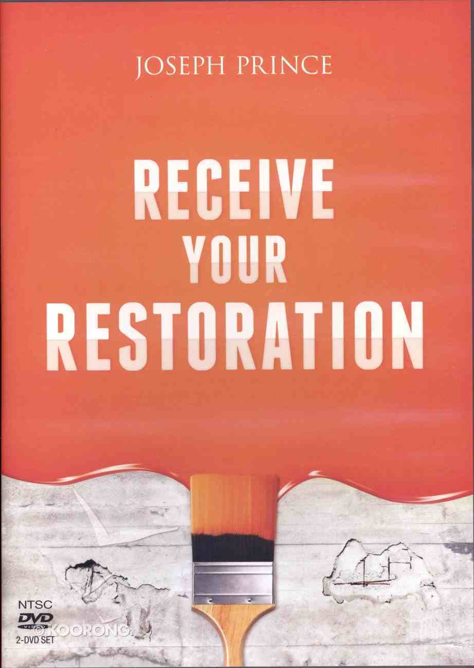 Receive Your Restoration (2 Dvds) DVD