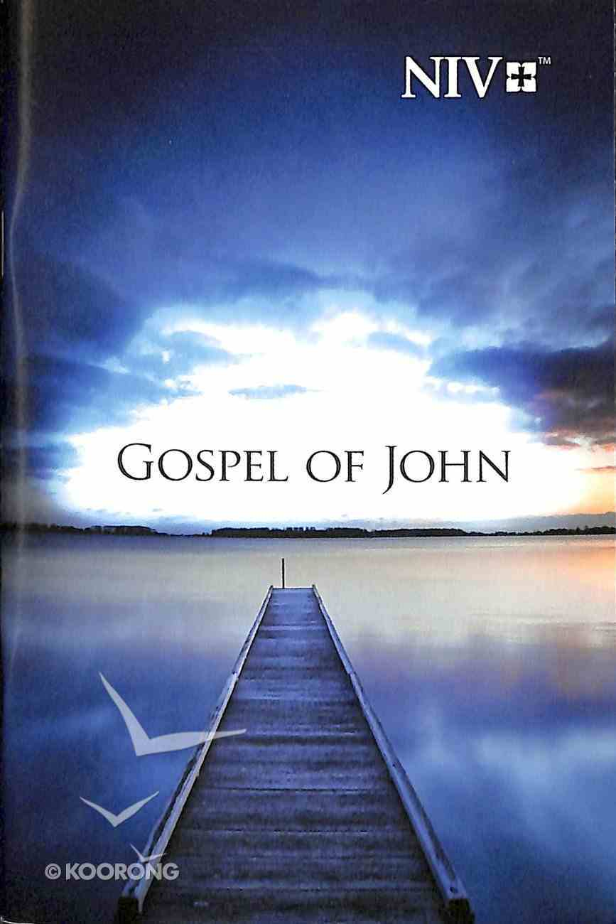 NIV Gospel of John Pocket: Pier Paperback