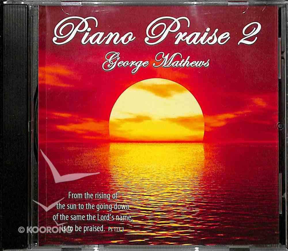 Piano Praise 2 CD