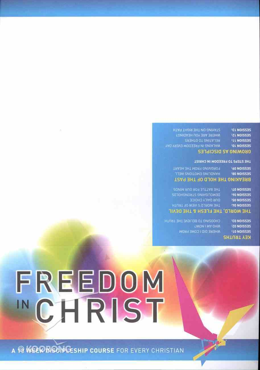 Freedom in Christ Invitations (X50) (Freedom In Christ Course) Pack