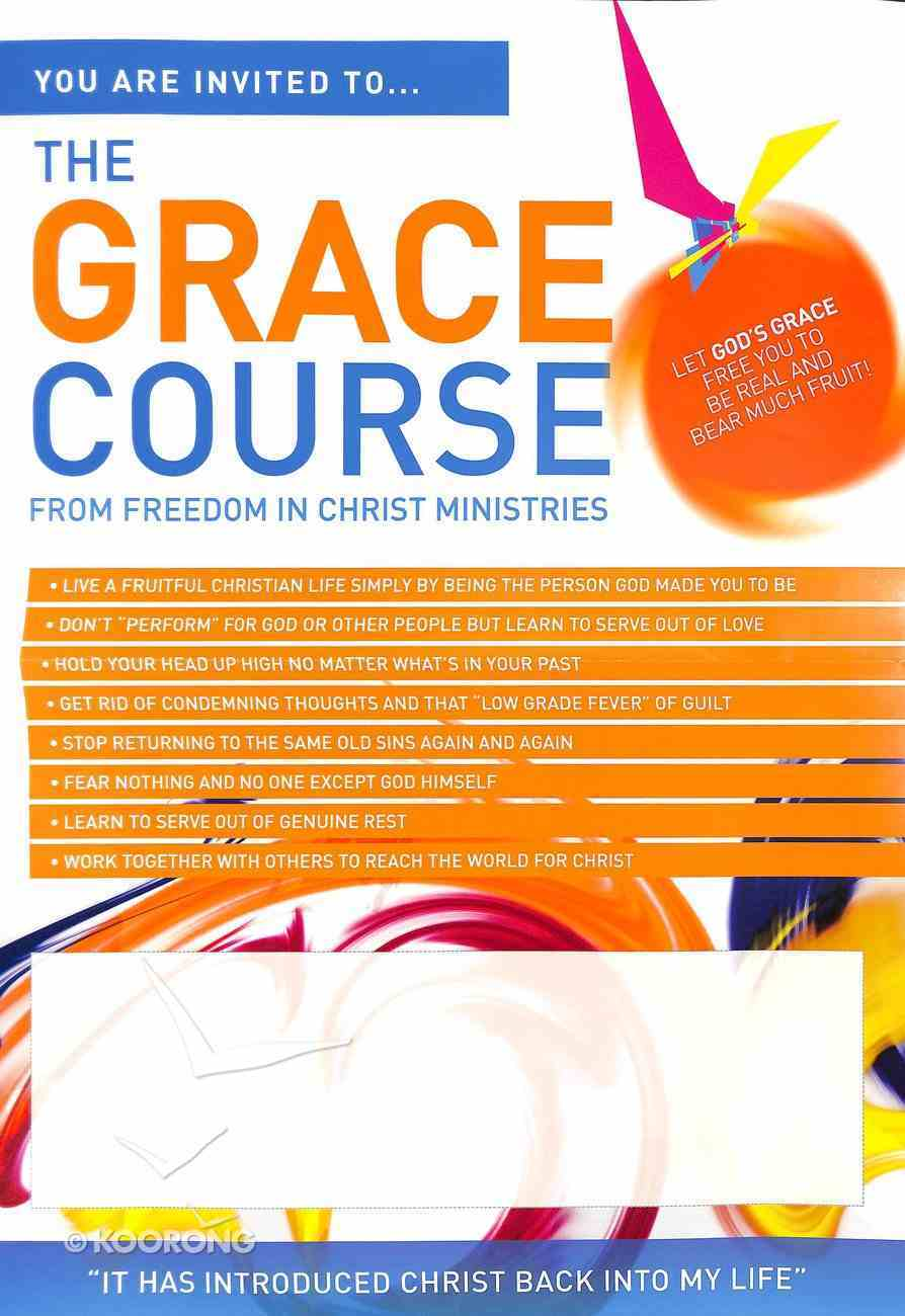 Grace Course, the A3 Folded to A4 (Poster) (The Grace Course) Poster