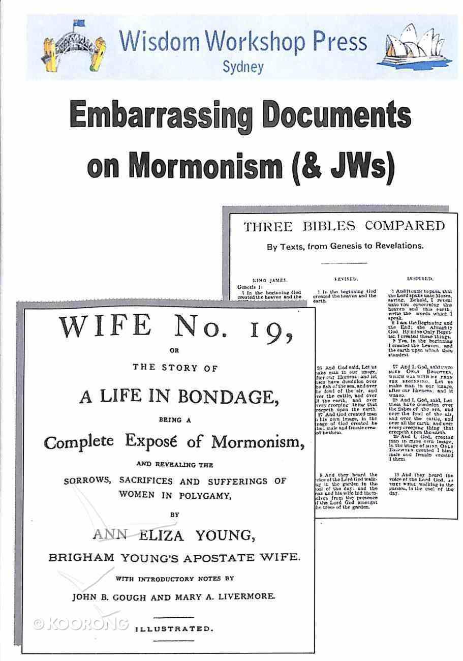 Wisdom Workshop: Embarrassing Books on Mormonism (Cd-rom) CD-rom