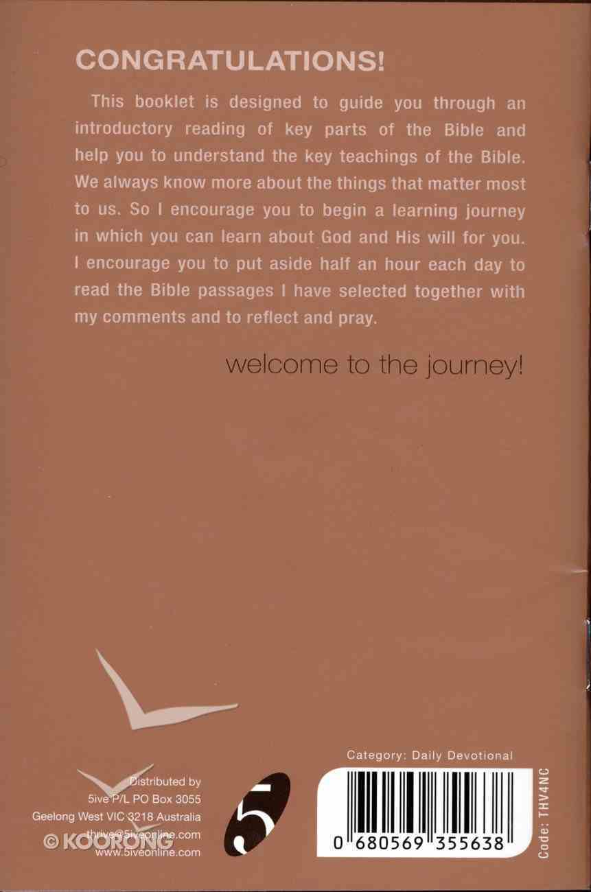 Thrive: New Christians Booklet