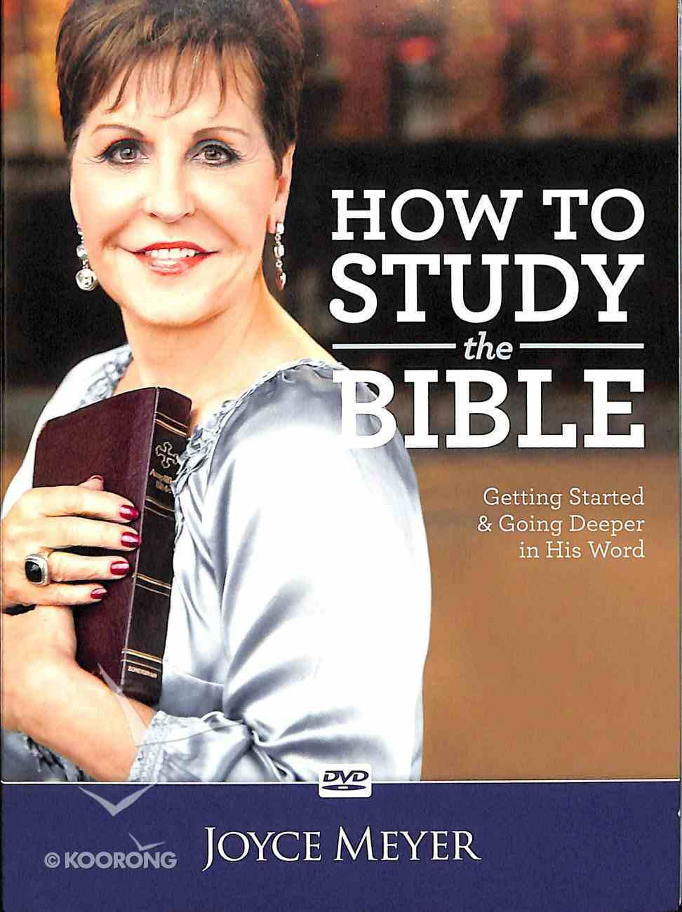 How to Study the Bible (1 Disc) DVD