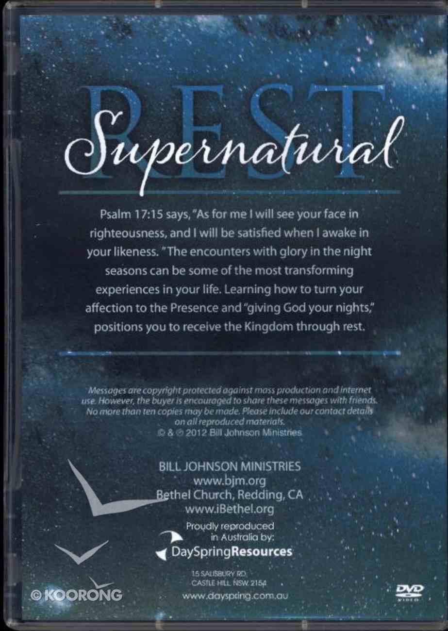 Supernatural Rest DVD