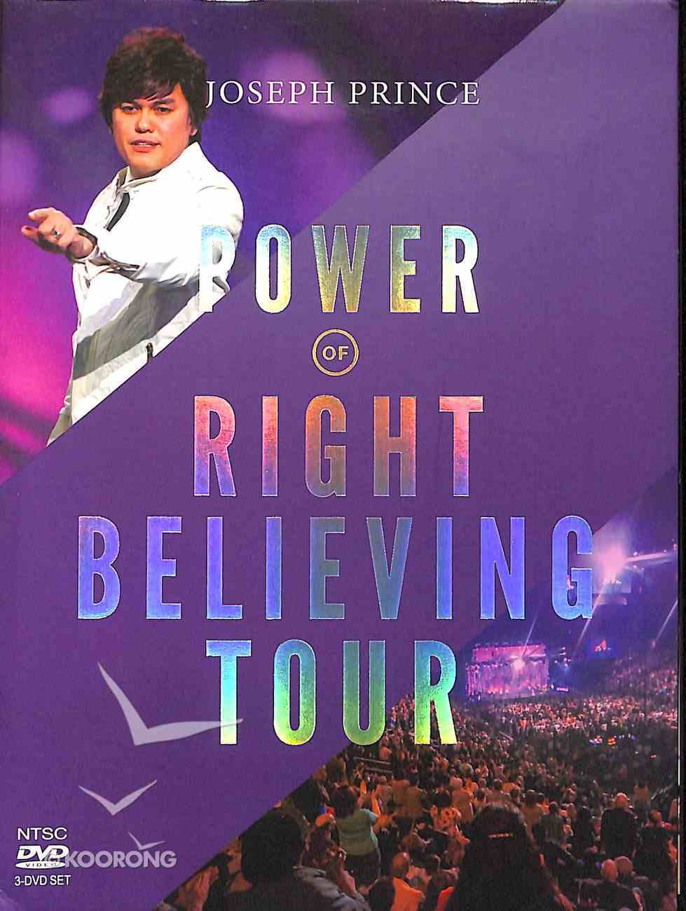 The Power of Right Believing Tour (3 Dvds) DVD
