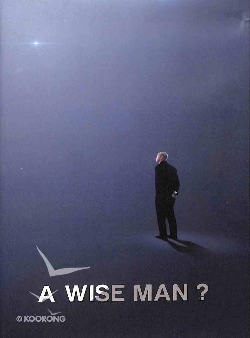 A Wise Man? DVD