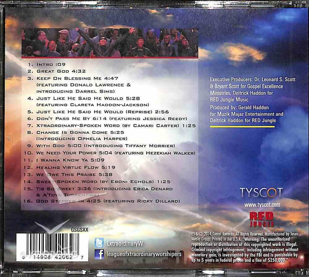 Deitrick Haddon's Lxw (League Of Xtraordinary Worshippers) CD