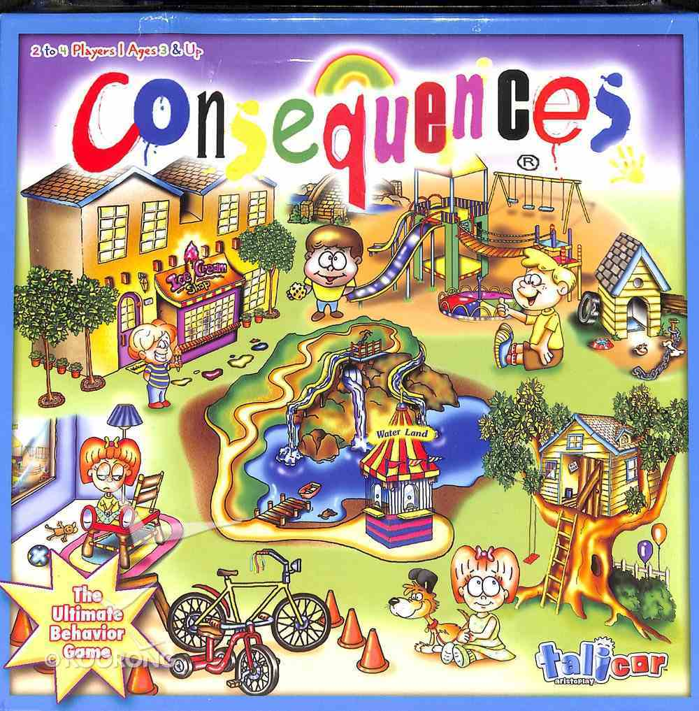 Board Game: Consequences (Ages 3+, 2-4 Players) Game
