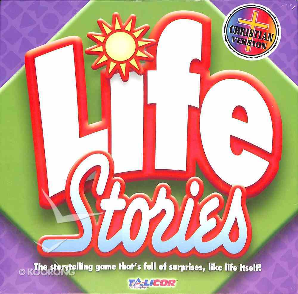 Board Game: Life Stories (Ages 6+, 2-8 Players) Game