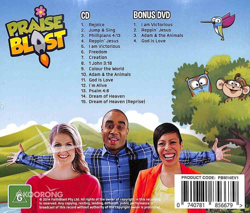 Praise Blast (With Bonus DVD) (Kids Praise Ages 1-10) CD