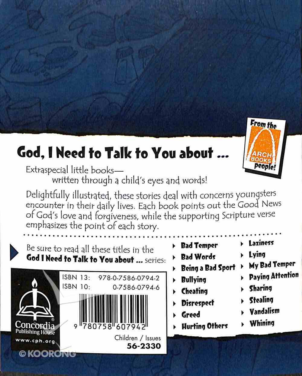 Whining (God, I Need To Talk To You About Series) Paperback