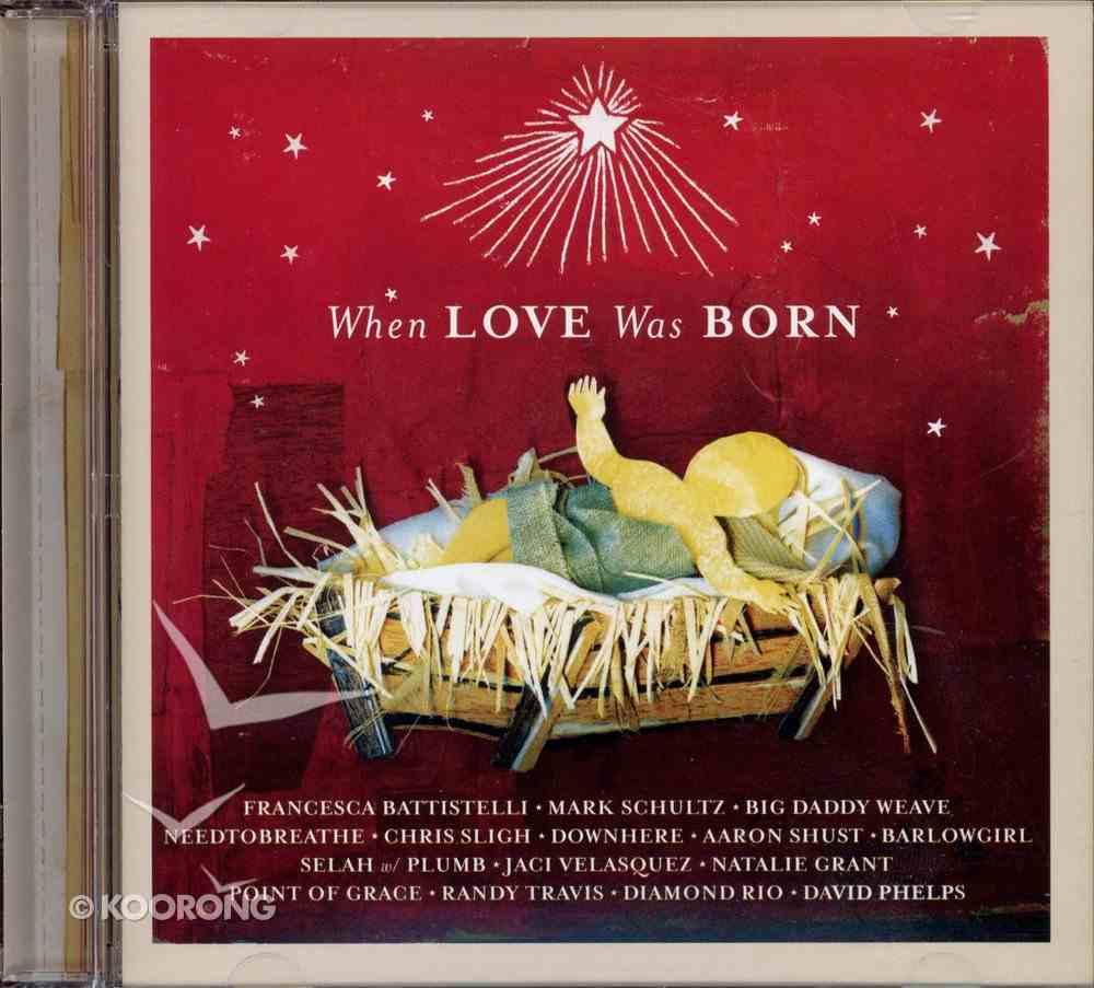 When Love Was Born CD