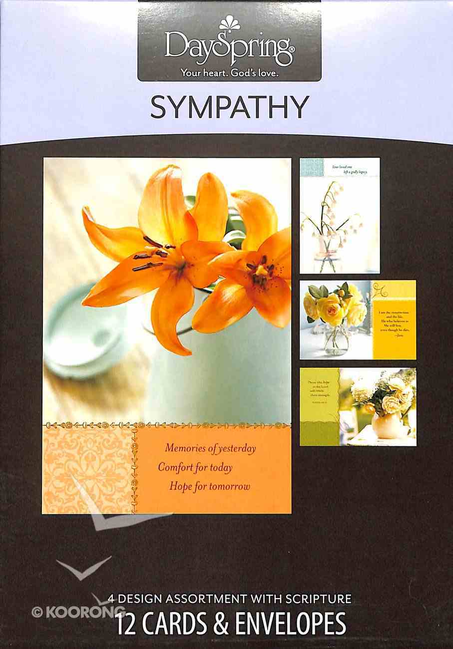 Boxed Cards Sympathy: Softly Box