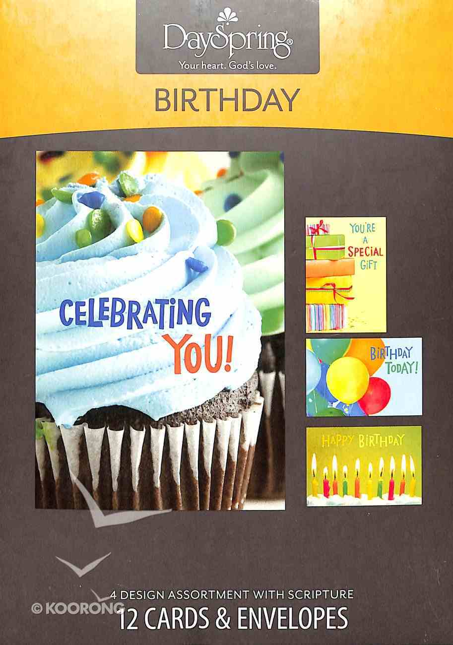 Boxed Cards Birthday: Bright Birthday Box