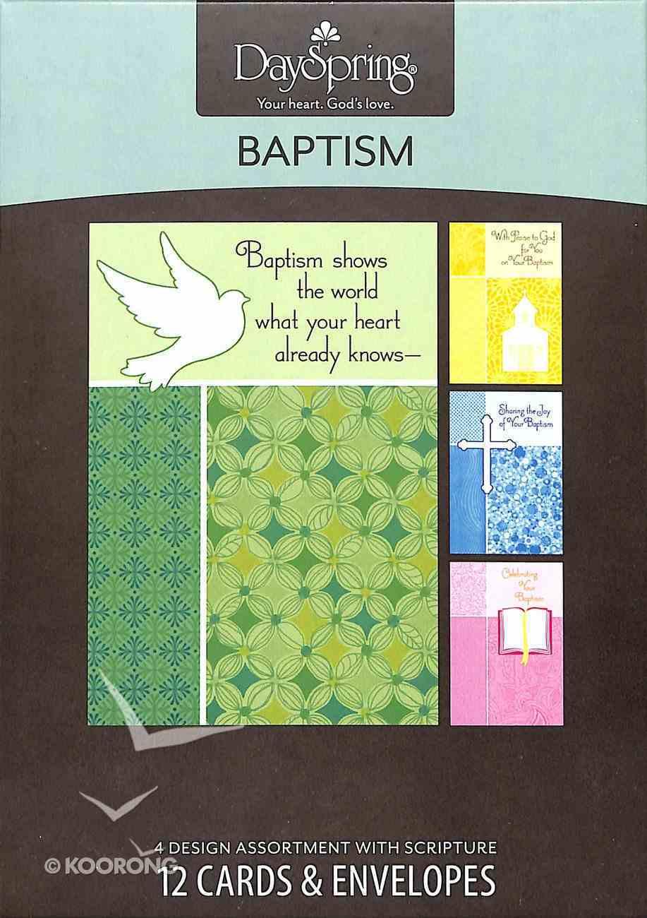 Boxed Cards Baptism: New Life Box