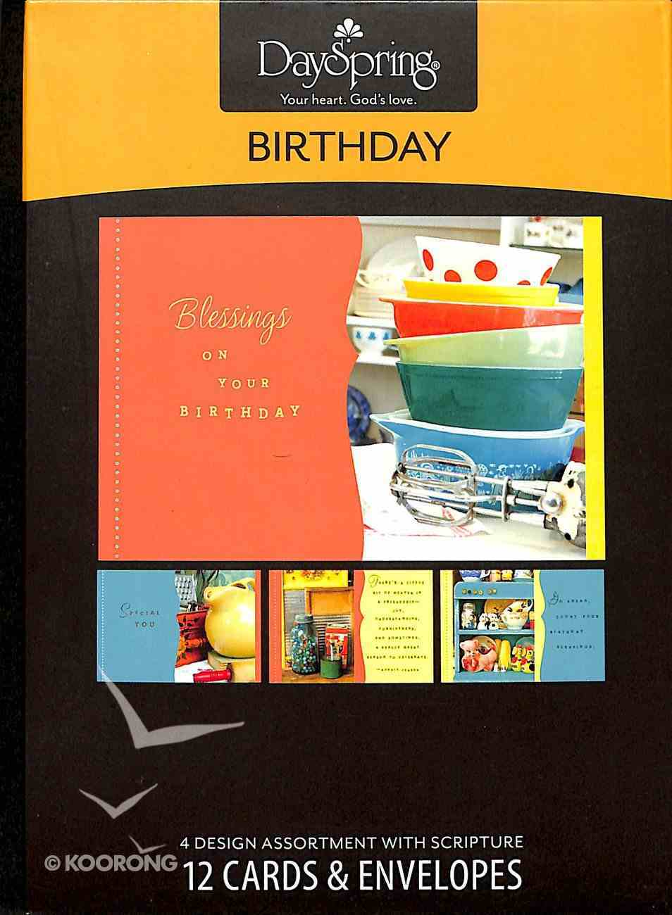 Boxed Cards Birthday: Collectible Wishes Box
