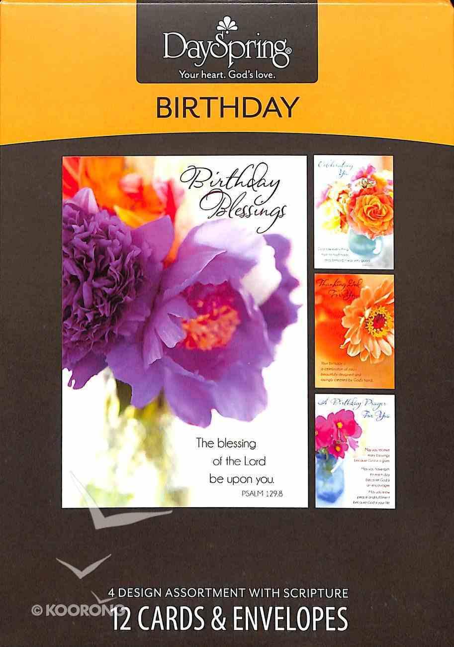 Boxed Cards Birthday: Flowers of Joy Box