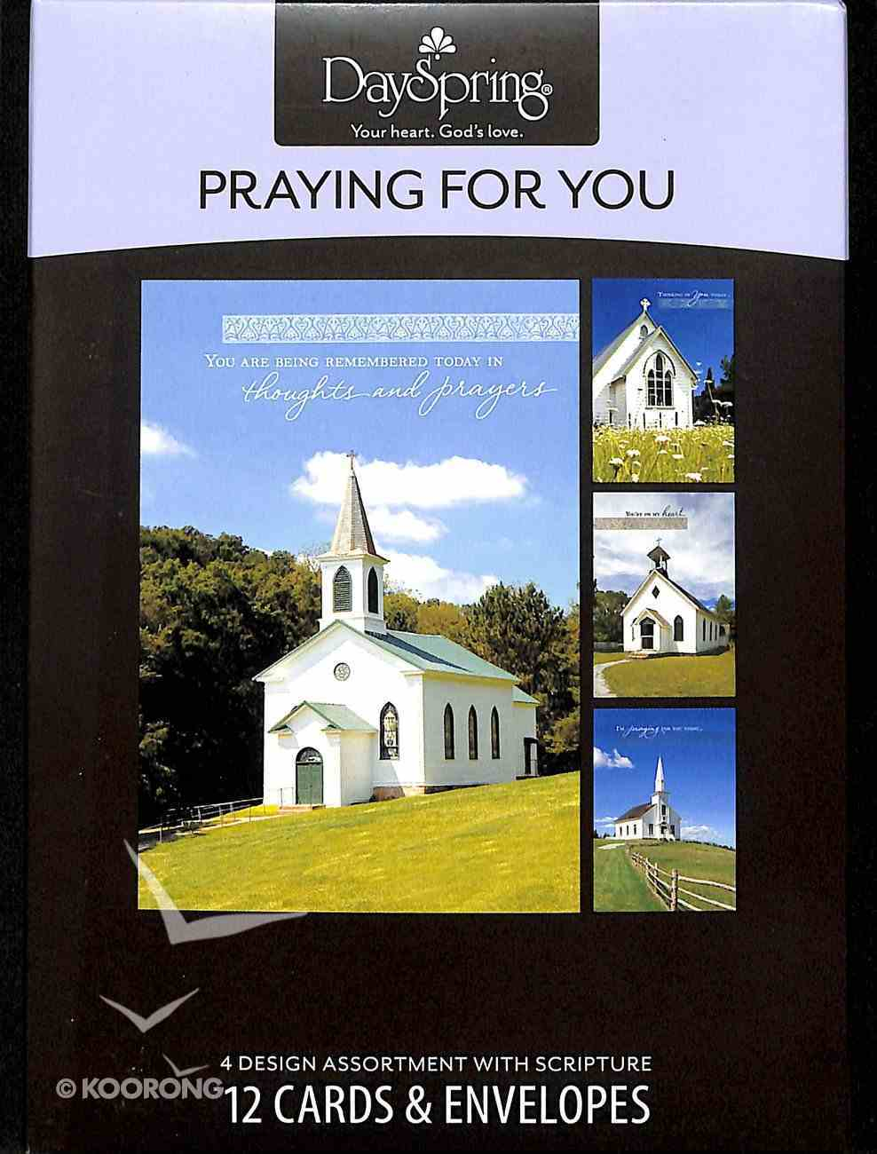 Boxed Cards Praying For You: Country Churches Box