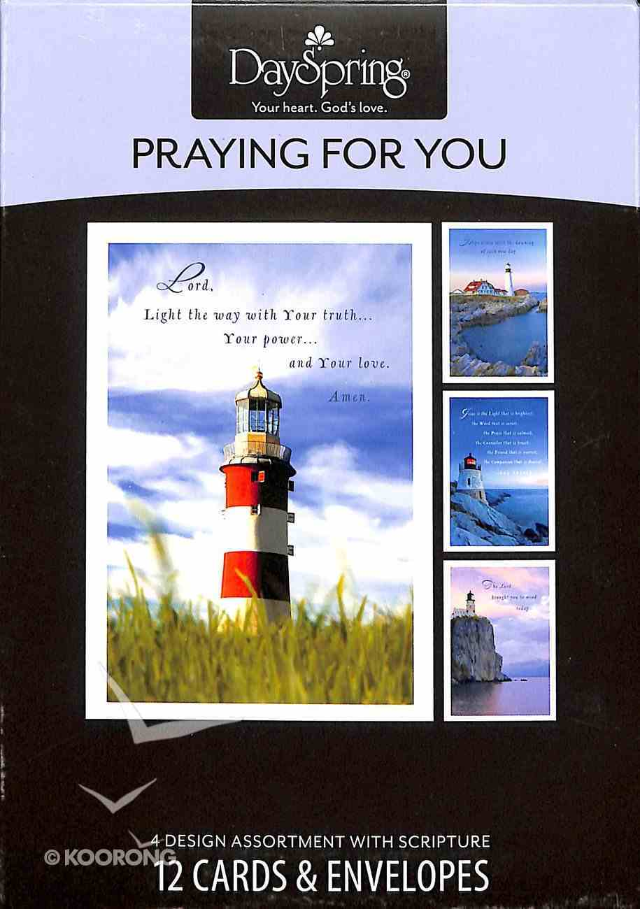 Boxed Cards Praying For You: Lighthouses Box