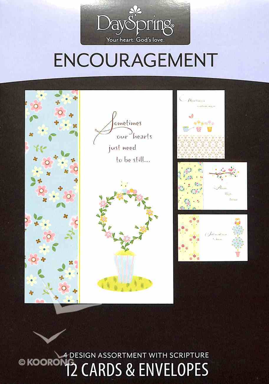 Boxed Cards Encouragement: Simple Inspiration Box