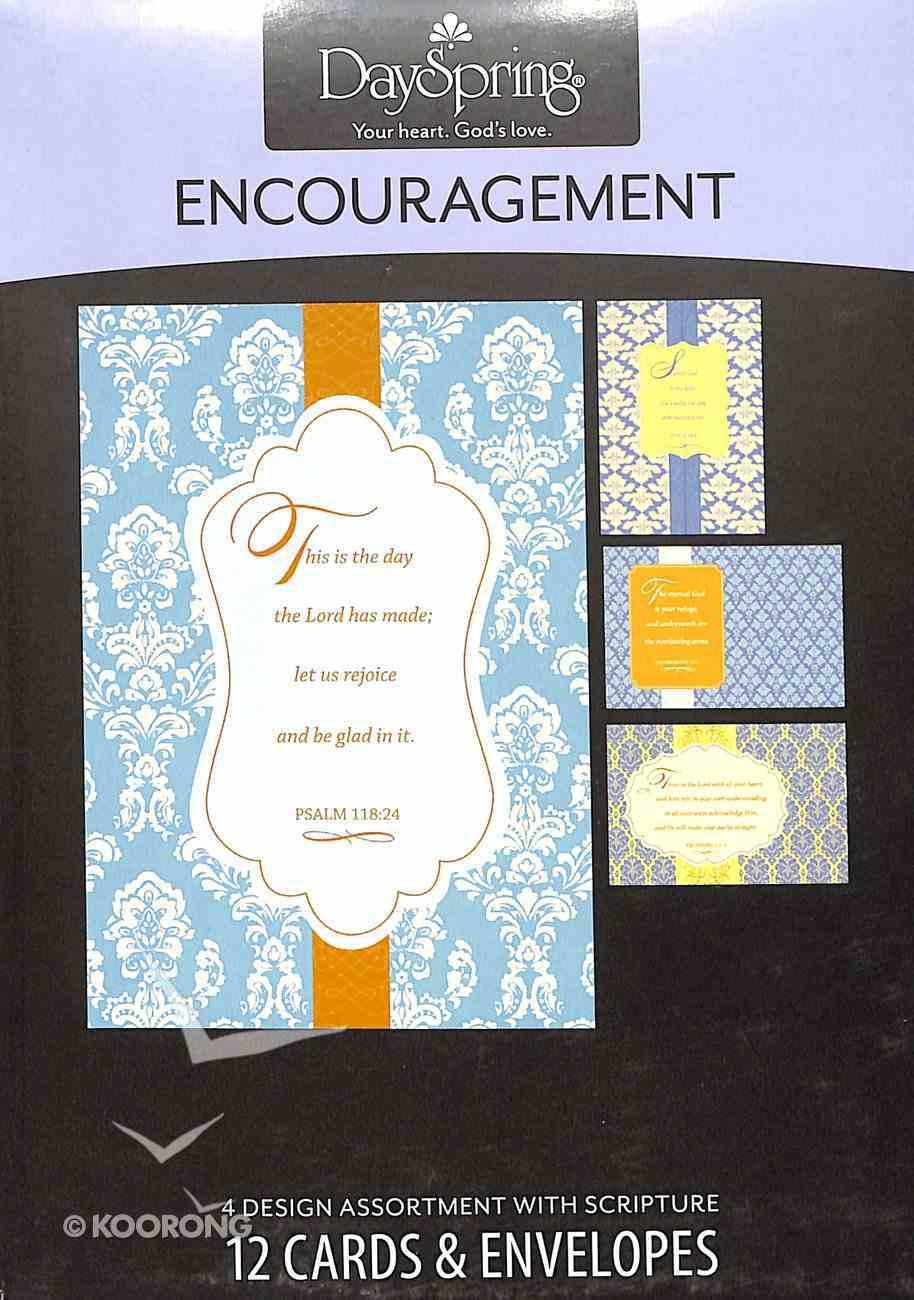 Boxed Cards Encouragement: Scriptural Patterns Box