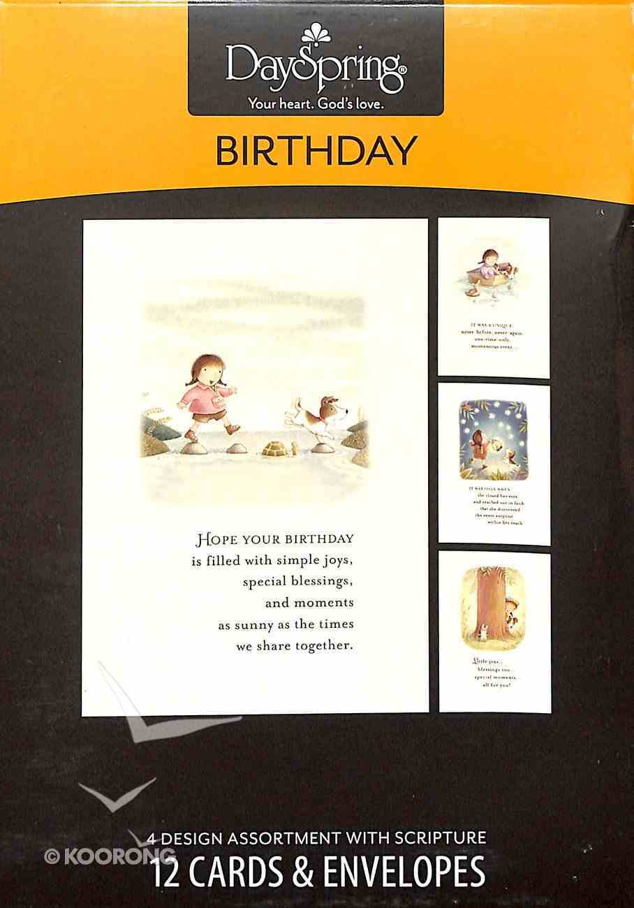 Boxed Cards Birthday: Story Time Box