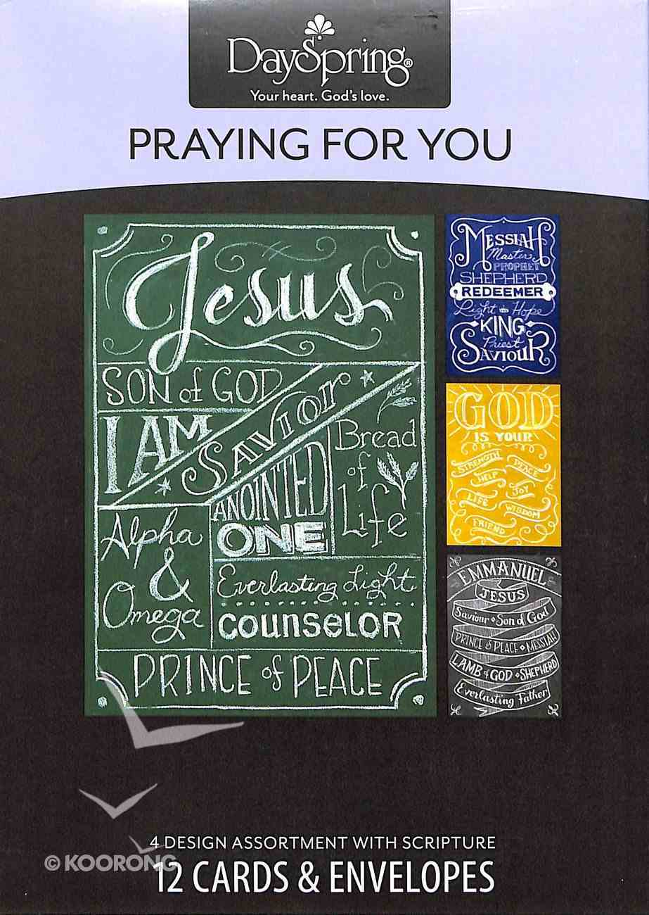 Boxed Cards Praying For You: Names of Jesus Box